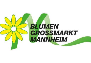 Logo des Blumengroßmarktes Mannheim