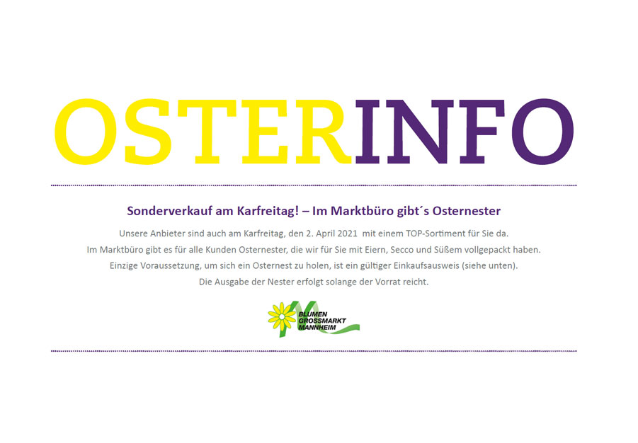 Osterinfo